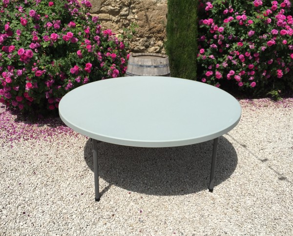 Table ronde 180cm oravis - Table ronde 180 cm combien de personnes ...