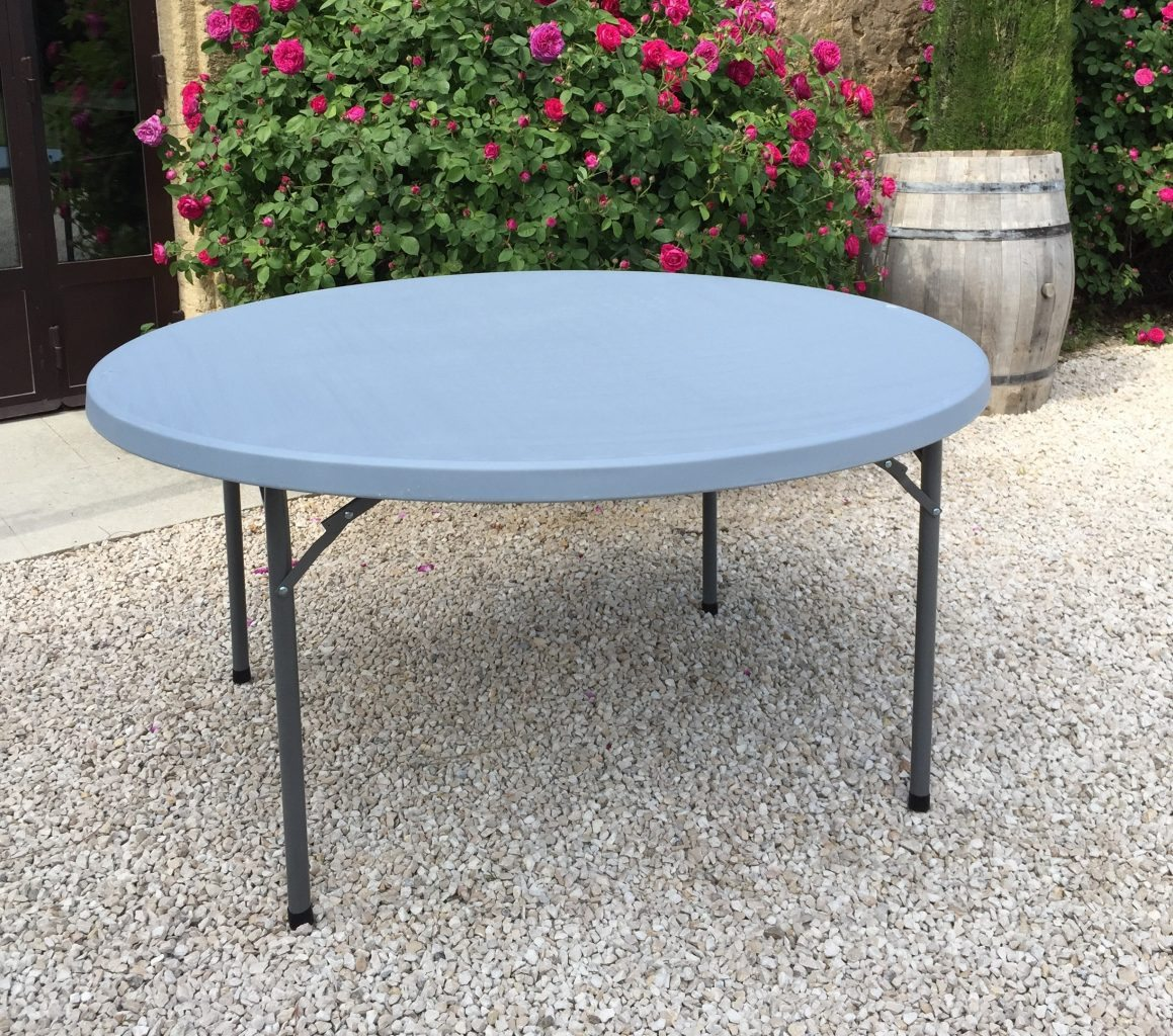 Table ronde 150cm oravis - Table ronde 6 personnes ...