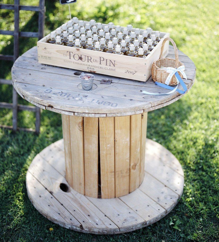 Touret en bois oravis - Table en touret ...